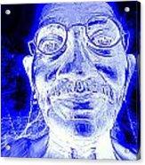 Mohandas Gandhi Acrylic Print