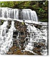 Mohawk Falls Acrylic Print