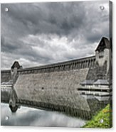 Mohne Dam Wide View Acrylic Print