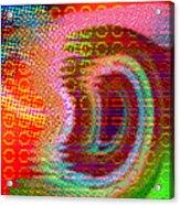 Moire No 4 Acrylic Print
