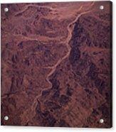 Mojave Desert Aerial Acrylic Print