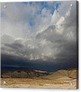 Mojave Storm Acrylic Print
