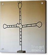 Molecular Religion Acrylic Print by Franco Divi