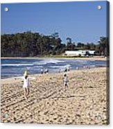 Mollymook Beach On The South Coast Of New South Wales Australia Acrylic Print