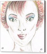 Mollys Makeover/ Pink Day Acrylic Print