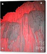 Molten Cherry Acrylic Print
