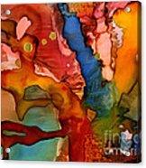Molten Love Acrylic Print