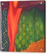 Molten Verdure Acrylic Print
