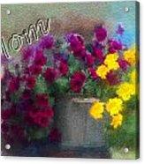 Mom Day 2014 Acrylic Print