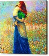 Mom I Love You 021 Acrylic Print
