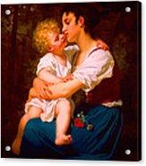 Mom I Love You  Acrylic Print
