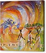 Mombasa Kenya Acrylic Print