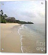 Mombassa Beach Acrylic Print