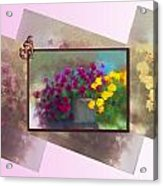 Moms Garden Art Acrylic Print