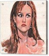 Mona Lisa De Prisa Acrylic Print