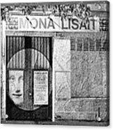 Mona Lisait Acrylic Print