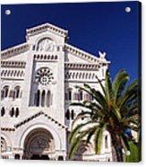 Monaco Cathedral Acrylic Print