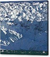 Monaco Glacier Liefdefjorden Norway Acrylic Print