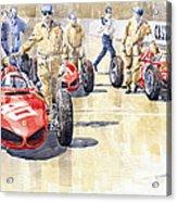 Monaco Gp 1961 Ferrari 156 Sharknose  Acrylic Print