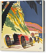 Monaco Grand Prix 1932 Acrylic Print