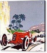Monaco Grand Prix 1934 Acrylic Print