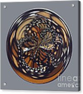 Monarch Butterfly Abstract Acrylic Print