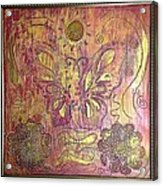 Monarch Butterfly By Alfredo Garcia Acrylic Print