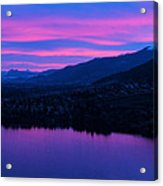 Monashee Rise Acrylic Print by Rod Sterling