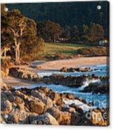 Monastery Beach In Carmel California Acrylic Print