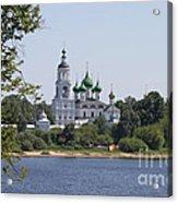Monastery In Yaroslavl Acrylic Print
