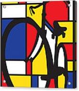 Mondrian Bike Acrylic Print
