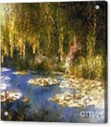 Monet After Midnight Acrylic Print