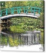 Monet Bridge Acrylic Print