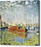 Monet, Claude 1840-1926. Argenteuil Acrylic Print by Everett
