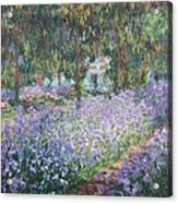 Monet, Claude 1840-1926. The Artists Acrylic Print