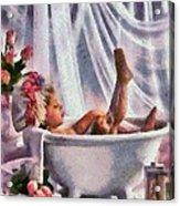 Monet Hunny Bunny Acrylic Print