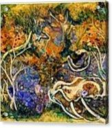 Monet Under Water Acrylic Print