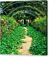 Monet's Gardens At Giverny Acrylic Print