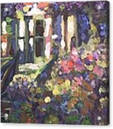 Monet's Home In Giverny Acrylic Print