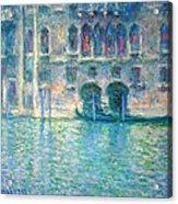 Monet's Palazzo De Mula In Venice Acrylic Print