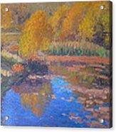 Monets Pond. Whitechapple Acrylic Print