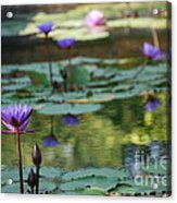 Monet's Waterlily Pond Number Two Acrylic Print