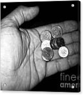 Money Always Funny Acrylic Print