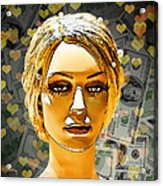Money Love Acrylic Print