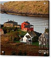 Monhegan Island Maine 142 Acrylic Print by Cindy McIntyre