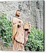 Monk Of St Goar Acrylic Print