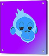 Monkey Dazed Acrylic Print