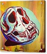Monkey Skull Acrylic Print