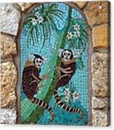 Monkey's Mosiac 02 Acrylic Print