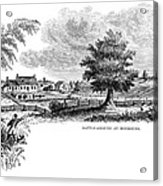 Monmouth Battlefield Acrylic Print